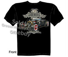 27 Roadster Hot Rod T Shirt 1927 Ford Rat Rod Tee Automotive Sz M L XL 2XL 3XL