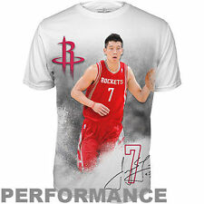 Levelwear Jeremy Lin Houston Rockets Youth Infinity Performance T-Shirt - White