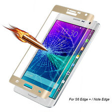 Full Coverage Tempered Glass Film Protector for Samsung Galaxy Note Edge/S6Edge+