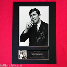 GEORGE LAZENBY Signed Autograph Mounted Photo RE-PRINT A4 276