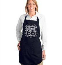 Full Length Dual Pocket Apron - Route 66 - Get Your Kicks