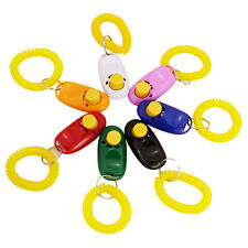 Big Button Dog Clicker with Wrist Band for Clicker Training Click Train Dog Pet