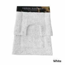 2 Pce Soft & Absorbant Luxurious Pure Cotton Floor Bath Mat Set 2000gsm