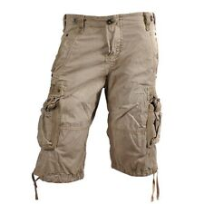 Alpha Industries Terminal Shorts Pants Bermudas Cargo beige New RRP 69,95