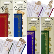 KOOL CATS BOOKMARK / New Plastic Page Marker Clip Office School Stationery Gift