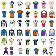 New Dragon Ball Goku 3D Costume Cycling Tee T-Shirt Short Long Sleeve Jersey Top