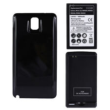 6800mAh Battery for Samsung Galaxy Note 3 N9000 N9005 N900A +Back Cover +Charger