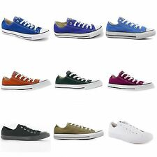 Converse Chuck Taylor All Star Ox Low Canvas Mens Womens Ladies Unisex Trainers