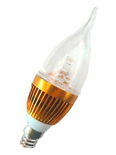 LED Candle Light E27 E14 White Warm Lamp Bulb High Power 3W 9W