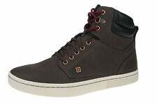 New Mens CAT Caterpillar Tulelake Brown Hi-Top Leather Ankle Boots Size 6-12