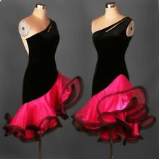Latin salsa Cha cha Tango Rumba  Ballroom Competition Dance Evening Dress A058