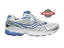Women's Saucony Progrid Guide 5 Running Shoes - White/Silver/Blue - NIB!
