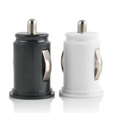 Mini Dual USB 2-Port Car Bullet Car Charger Adaptor For iPhone 5s 5 6 6 Plus