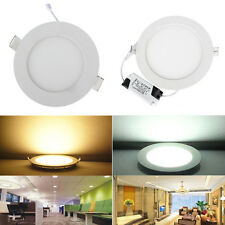 4PCS CREE 6W 9W 12W 15W 18W  Recessed Ceiling Panel LED Down Lights Bulb Lamp