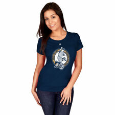 Jorge Posada New York Yankees Majestic Women's Retirement Logo T-Shirt - MLB