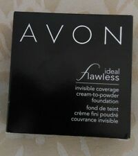Avon Ideal Flawless Cream-to-Powder Foundation - Choose your Shade