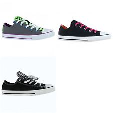 Converse CT All Star OX Double Tongue Kids Trainers