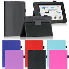 For 2014 Amazon Kindle Fire HD 7 Tablet Slim PU Leather Folio Smart Case Cover