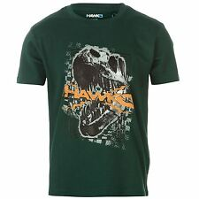 Tony Hawk Kids Junior Boys Dinosaur T Shirt Crew Neck Short Sleeve Tee Top