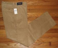 NEW NWT Mens Polo Ralph Lauren Classic Fit Cords Corduroy Pants Beige $69 *G8
