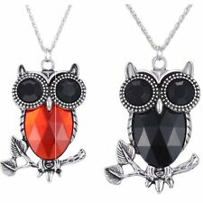 HOT Beautiful Charm Owl Pendant Necklace Animal Long Sweater Chain Jewelry Gifts
