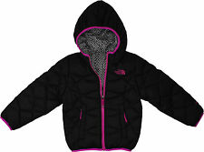 The North Face Girls Reversible Moondoggy Jacket TNF Black