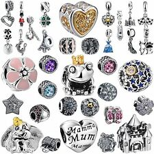 New Fashion 2016 Brand Jewelry 925 Sterling Silver Charms Fit Girl Bead Bracelet