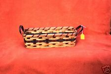 AMISH MADE LARGE BREAD BASKET  NEW