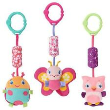 Kids Baby Soft Animal Handbells Rattles Stroller Bells Developmental Toy OWL uf