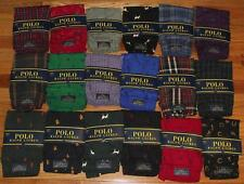 NEW Mens Polo Ralph Lauren Boxers Boxer Shorts Underwear Pony Logo 18-Styles *W3