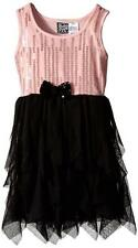 Pogo Club Girls Pink & Black Amber Dress Size 4 5/6 6X $36