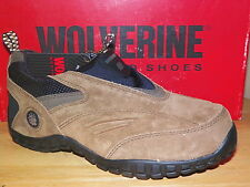 NIB Womens Wolverine Steel Toe Slip On Shoe Szs 5-7 #4545 Sandstone