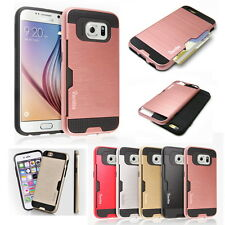 Hybrid Rugged Shockproof Hard Armor Back Bumper Case Cover For iPhone Galaxy LG