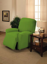 LIME RECLINER COVER---ALSO COMES IN SOFA COUCH LOVESEAT CHAIR AND FUTON COVERS