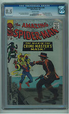 AMAZING SPIDER-MAN #26 CGC 8.5 HIGH GRADE GREEN GOBLIN APP OW PAGES SILVER AGE B