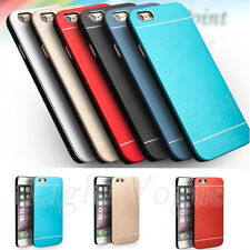 New Aluminum Thin Metal Hard Case Back Cover For Apple iPhone 4S/ 5S/6 Plus