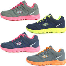 New Sports Fashion Sneakers Womens Running Trainer Lace up Casual Athletic Shoes