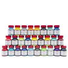 Angelus Collectors Edition Acrylic Leather Paint 1oz Bottles Complete Collection