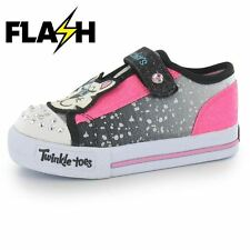 Skechers Kids Twinkle Toes Play Infants Trainers Girls Childrens