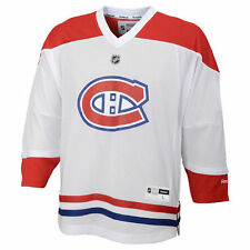 Montreal Canadiens Reebok Youth Replica Away Jersey - White