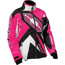 Castle X Youth Girls G3 Launch Jacket sizes S-XL Hot Pink/Black