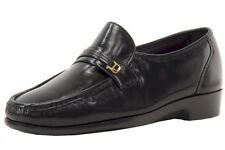 Florsheim Men's Riva Slip-On Black Leather Loafers Shoes