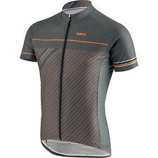 Louis Garneau Equipe GT Series SS Jersey Grey/Orange 2017