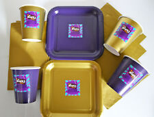 ROALD DAHL/WILLY WONKA Birthday Party Tableware Pack/Set/Kit - Plates, Cups etc