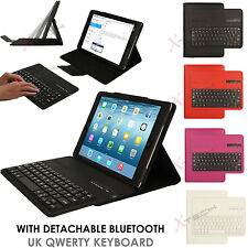 "Apple iPAD PRO (9.7"")  Bluetooth UK QWERTY Keyboard PU Leather Case with Stand"