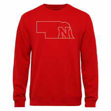 Nebraska Cornhuskers Tradition State Pullover Sweatshirt - Red - College