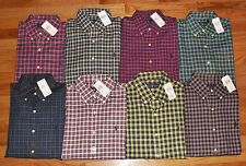 NEW NWT Polo Ralph Lauren Mens Buttondown Dress Shirt Plaid 8 Colors to Choose