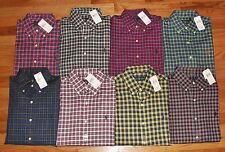 NEW NWT Polo Ralph Lauren Mens Buttondown Dress Shirt Plaid 8 Colors Choose *E6