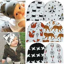 1Pcs Kid Child Baby Toddler Cotton Animal Beanie Hat For New Born Soft Cap