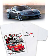 C6 Chevrolet Corvette T-Shirt - (2005-2012) Z06 ZR1 Grand Sport New